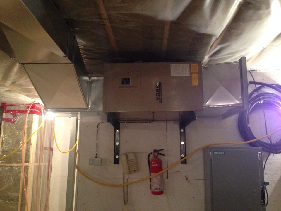 Honeywood, ON - Repaired electric furnace