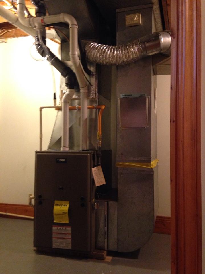 Nottawa, ON - York Furnace Installation