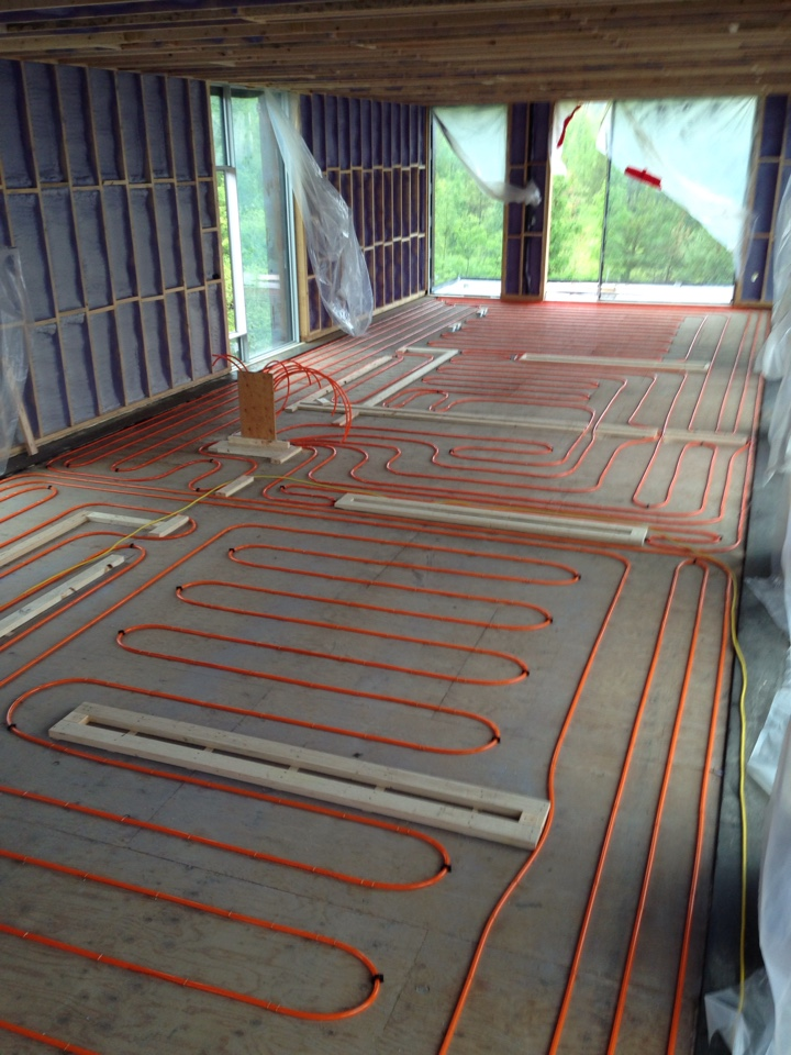 Honeywood, ON - Radiant Infloor heating