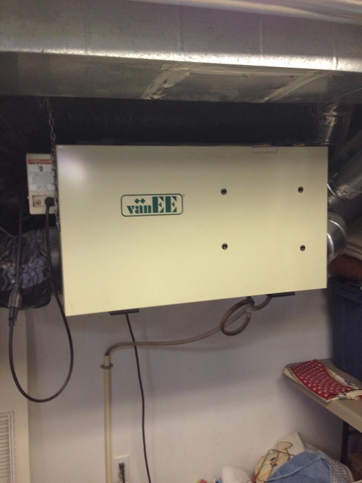 VanEE HRV maintenance