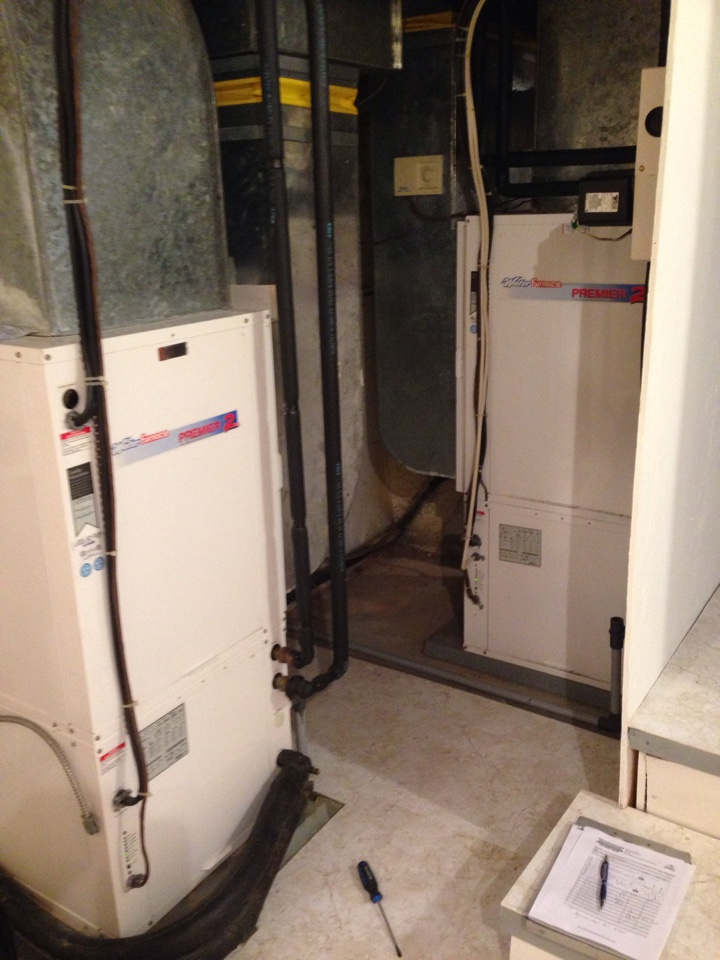 Creemore, ON - Annual Waterfurnace Geothermal Heat Pump Maintenance. X2