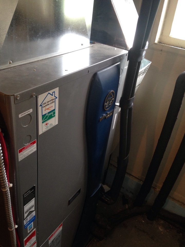 Minesing, ON - water furnace geothermal loop flush service