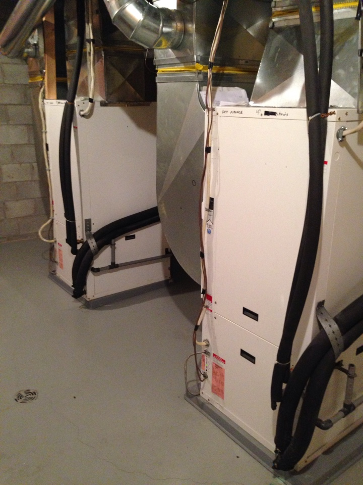 Clarksburg, ON - WaterFurnace Geothermal Ground Source Heat Pump annual maintenance