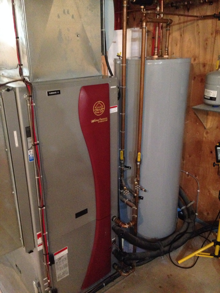 Shanty Bay, ON - Water-furnace Synergy 3D geothermal heat pump service and maintenance