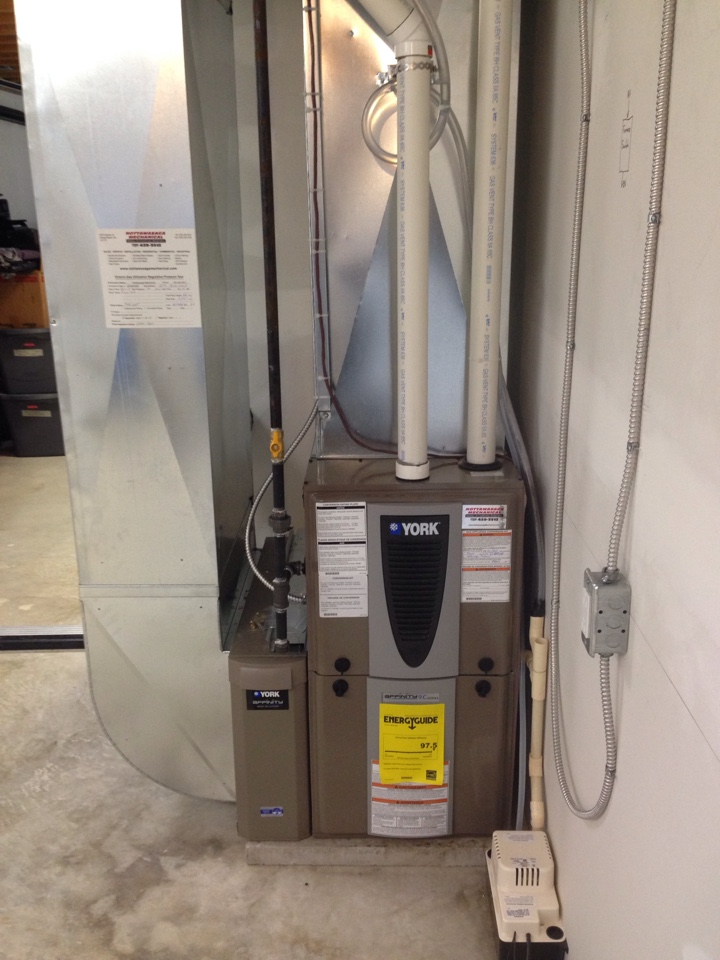 Stayner, ON - York modulating gas furnace installation