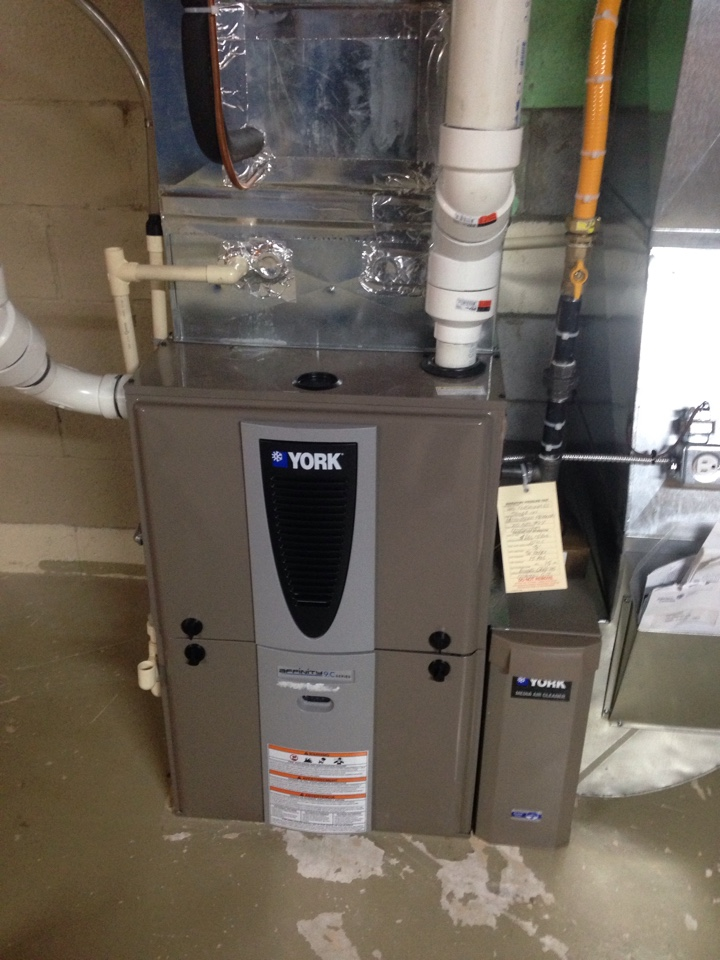 Stayner, ON - York gas furnace maintenance