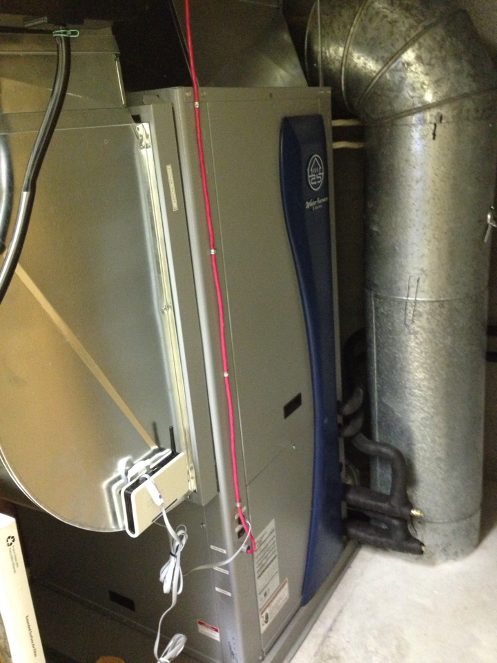 Midland, ON - WaterFurnace Geothermal  heat pump 5 series new installation