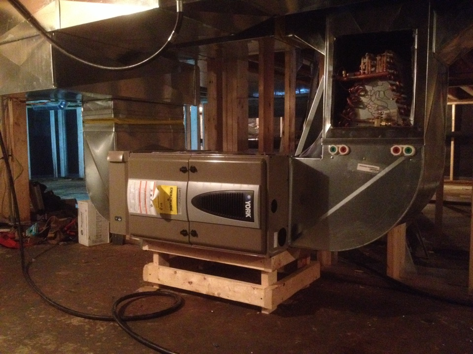 Meaford, ON - New Furnace install