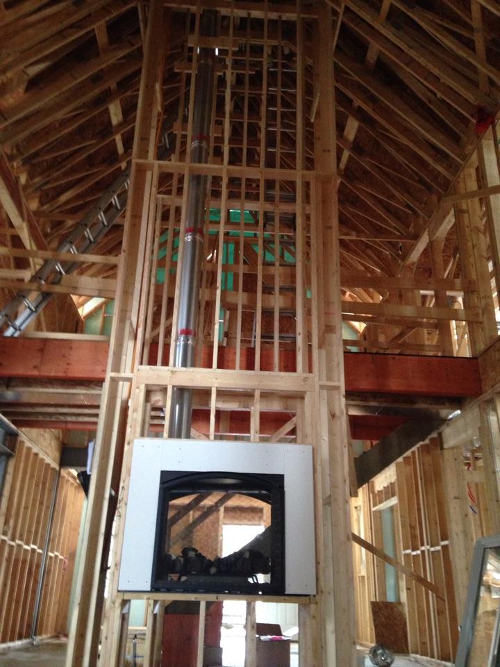 Clarksburg, ON - Heat and Glo Escape 42ST installation