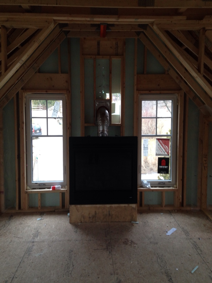 Clarksburg, ON - Heatilator 4842I Fireplace Installation