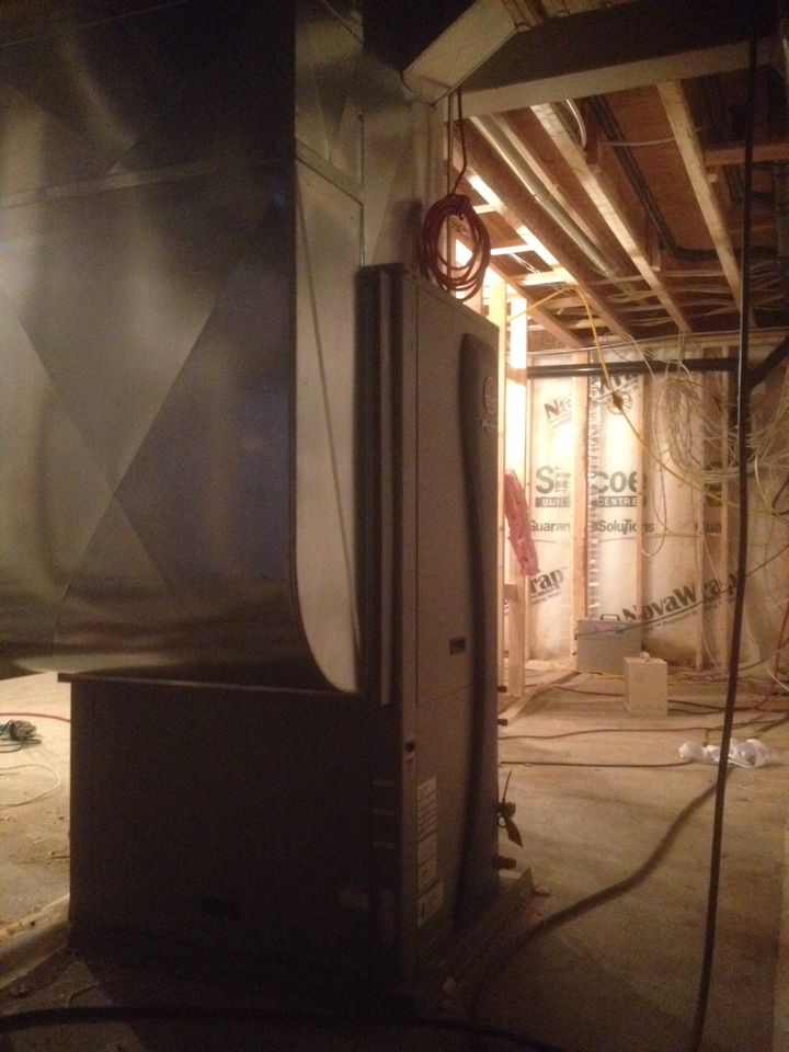 Shanty Bay, ON - Water furnace install