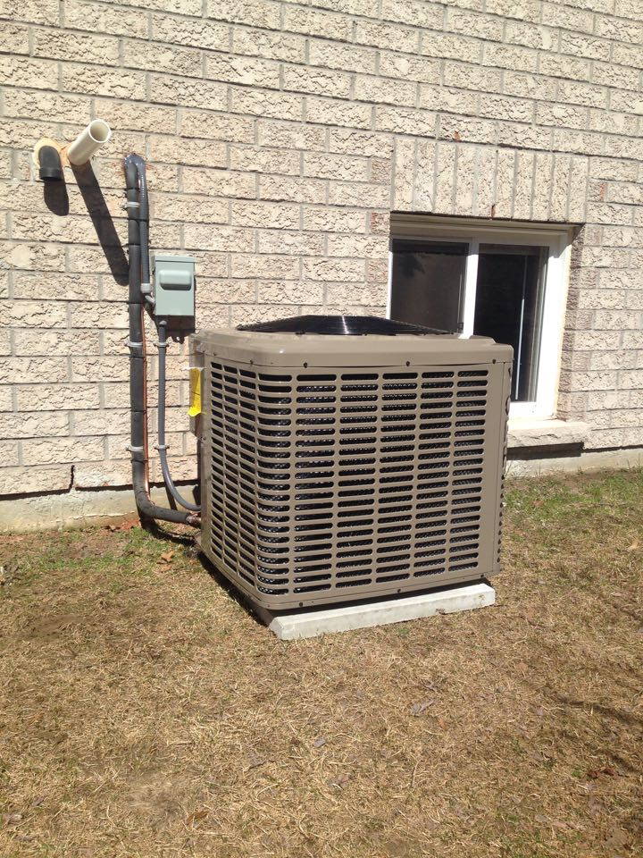 Wasaga Beach, ON - York air conditioner installation with new refrigerant lines