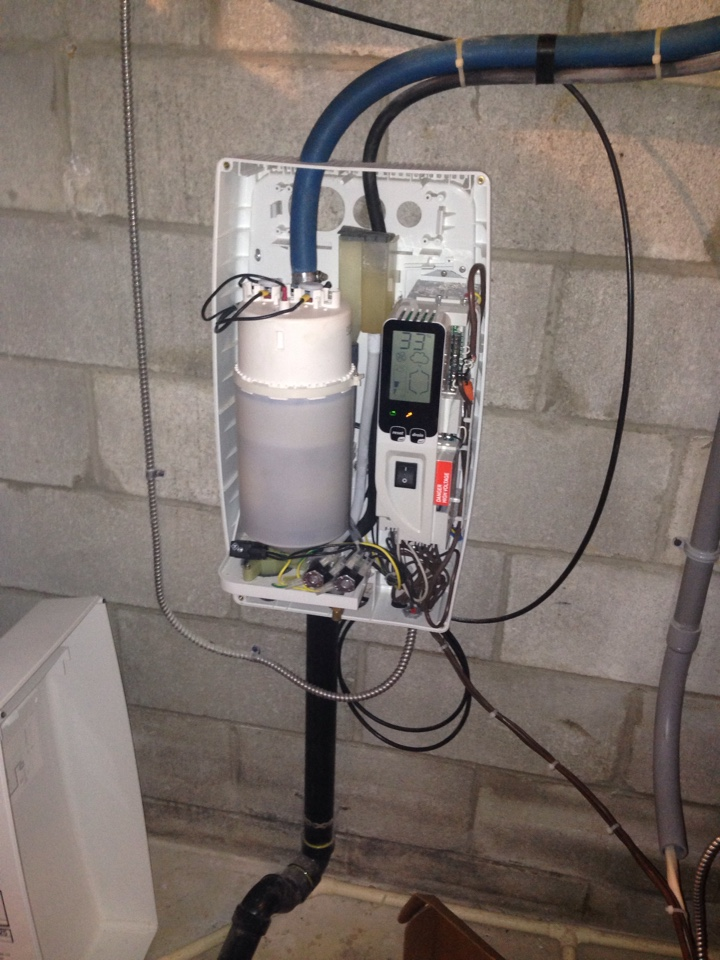 Honeywood, ON - Maintenance on water furnace, steam humidifier & HRV.