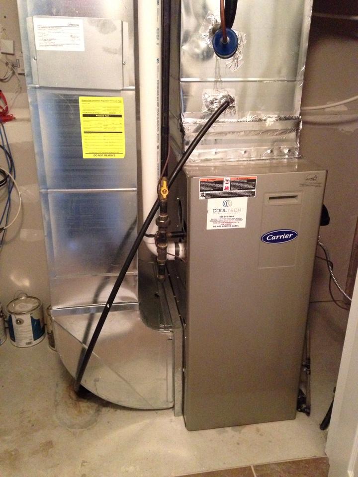 Collingwood, ON - carrier gas furnace maintenance