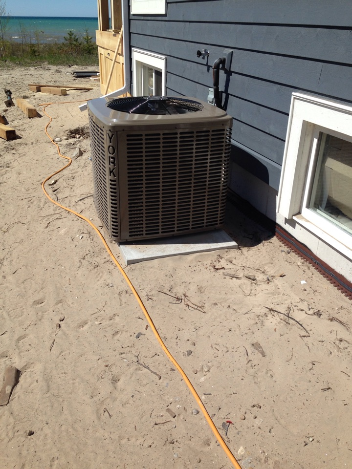Wasaga Beach, ON - York residential air conditioner installation