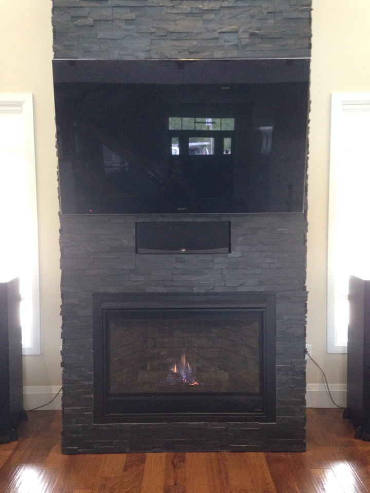 Blue Mountains, ON - Heatilator fireplace installation