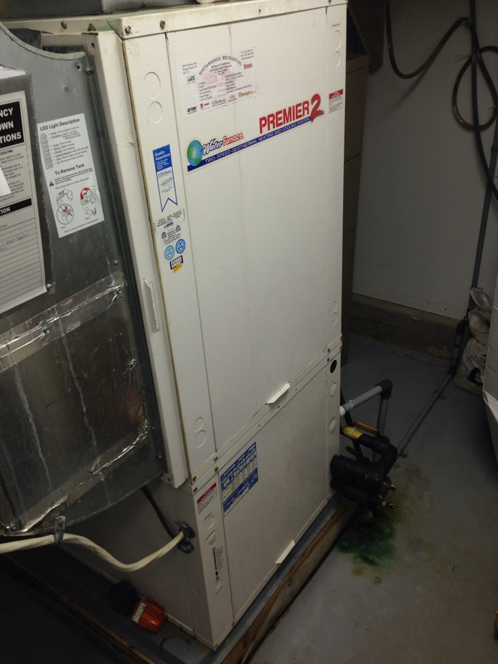 Alliston, ON - Waterfurnace service