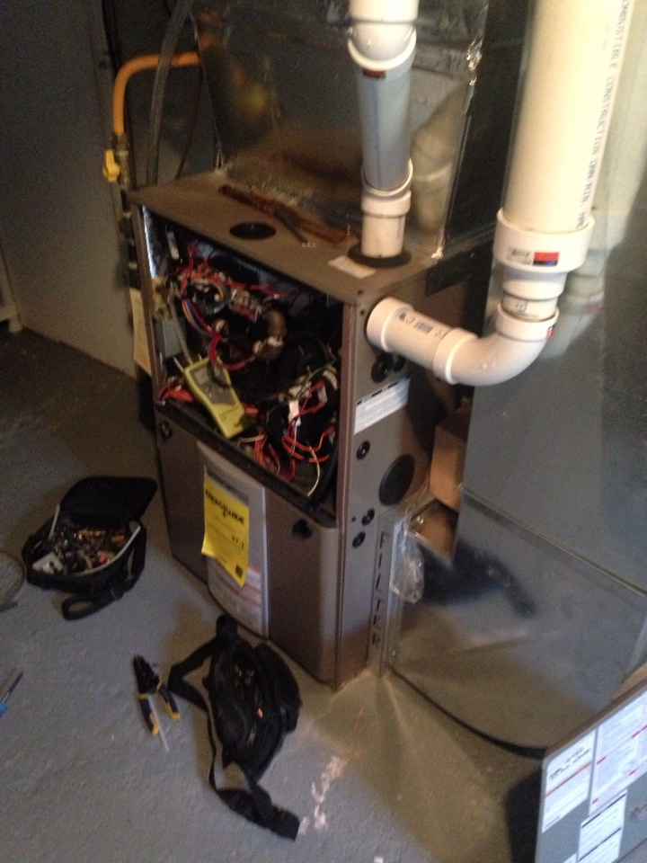 Creemore, ON - Propane furnace maintenance