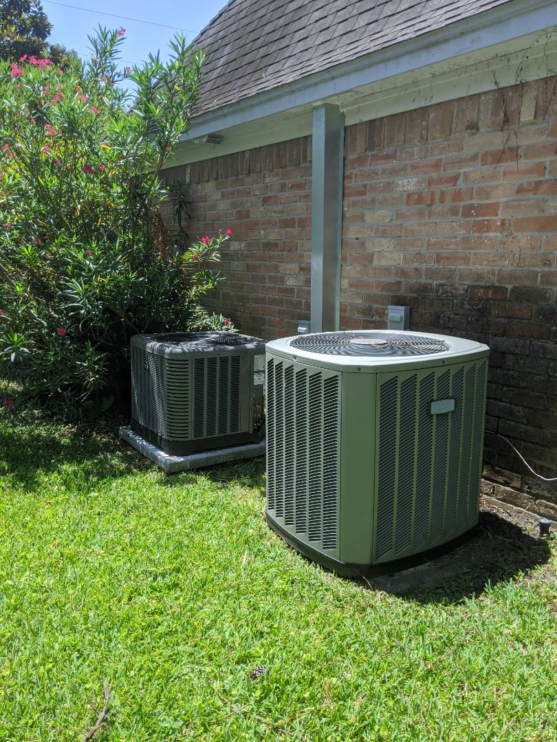 Spring, TX - Performed preventative maintenance on two HVAC systems in Spring.