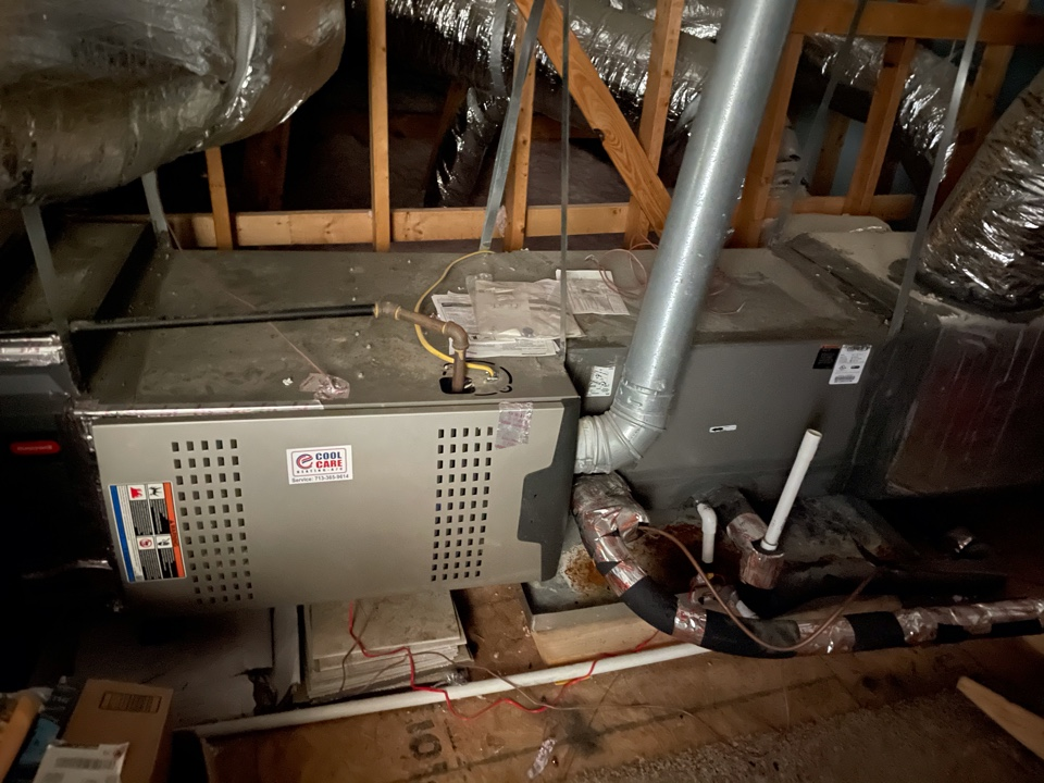 Katy, TX - Completed no heat diagnostic and thermostat replacement on Lennox system in Katy