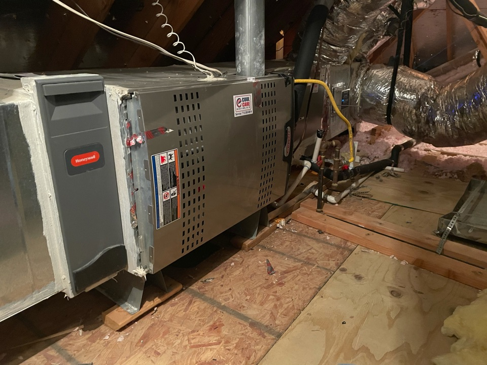 Houston, TX - Completed fall preventative maintenance on Lennox system in Spring Branch