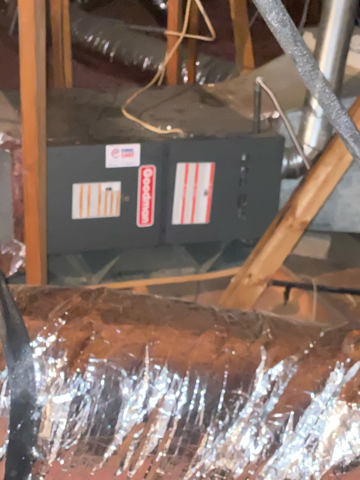 Houston, TX - Replace a Hot Surface Ignitor on a Goodman furnace near Cinco Ranch, TX
