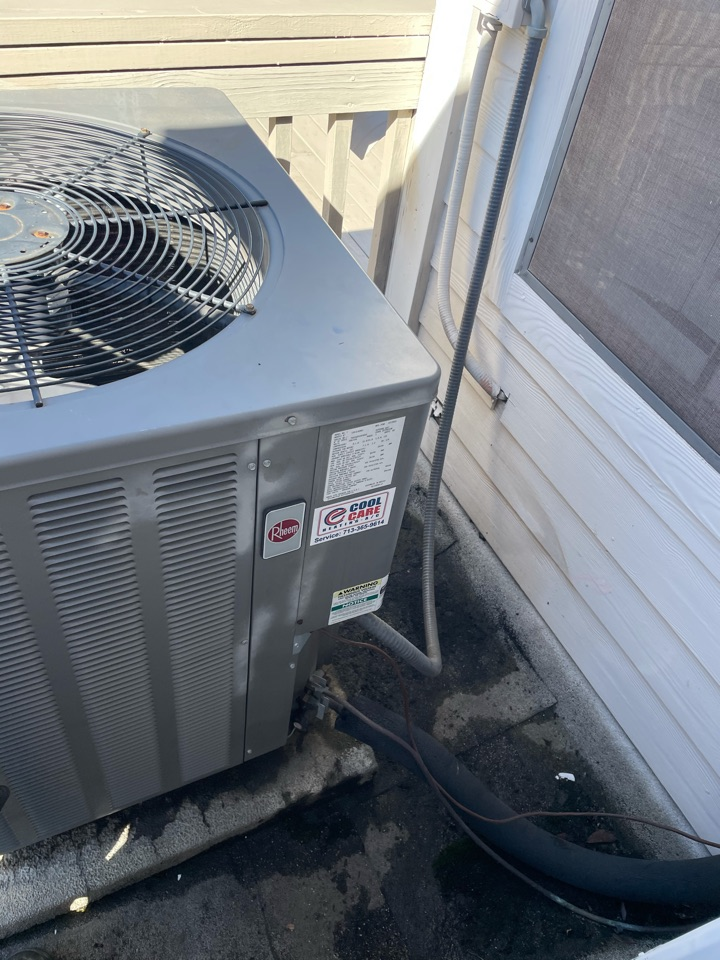 Houston, TX - Complete diagnostic on Rheem system in Uptown