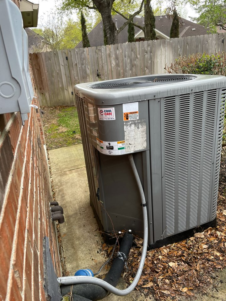 Cypress, TX - Complete 2 system spring safety checks on Rheem systems in Stable Gate