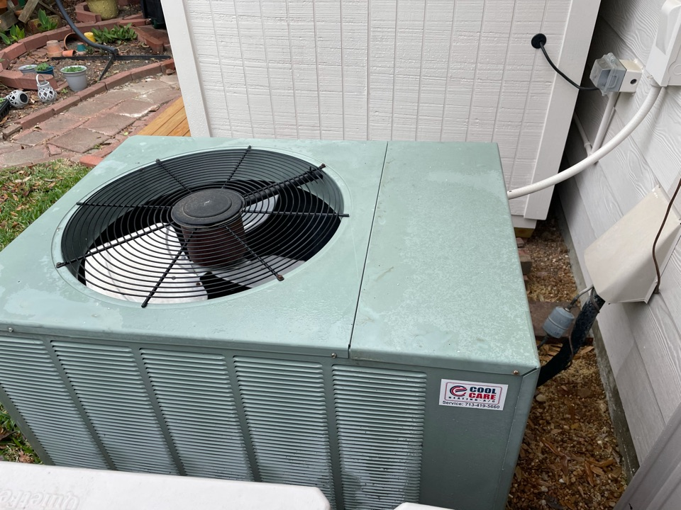 Katy, TX - Completed spring preventative maintenance on Ruud system in Katy