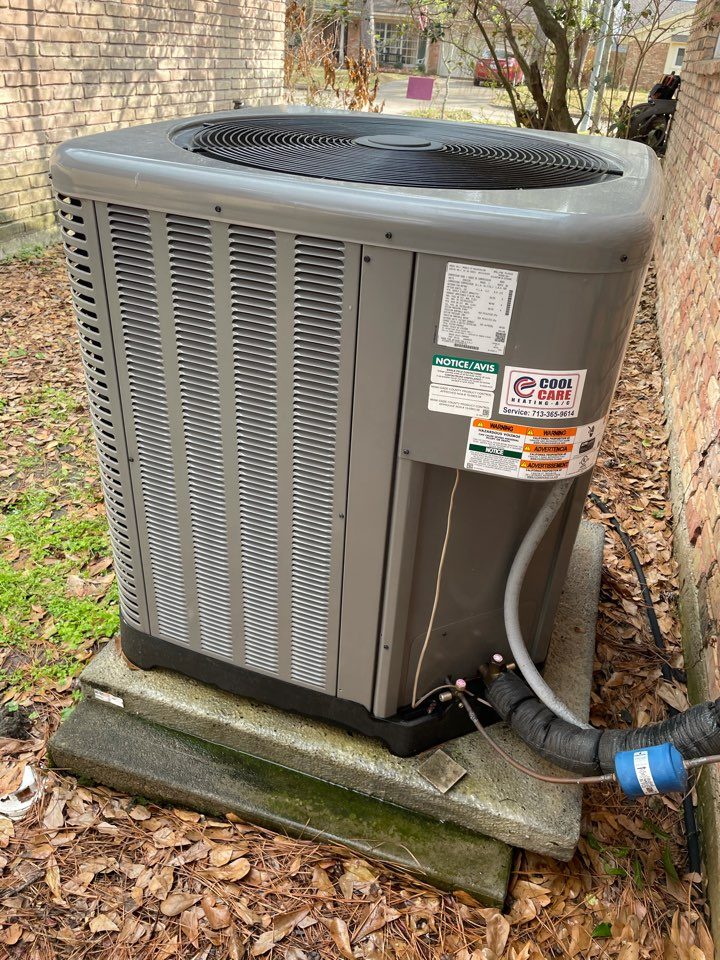 Katy, TX - Completed spring preventative maintenance on Ruud system in Cinco Ranch
