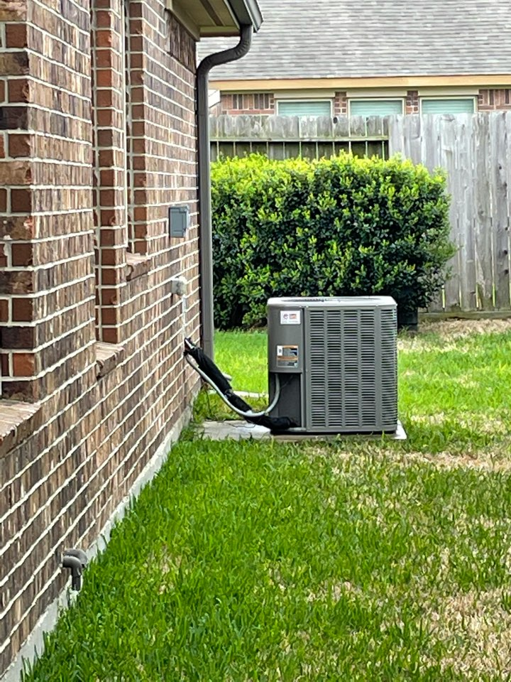 Cypress, TX - Completed spring preventative maintenance on Lennox system in Towne Lakes/ Cypress