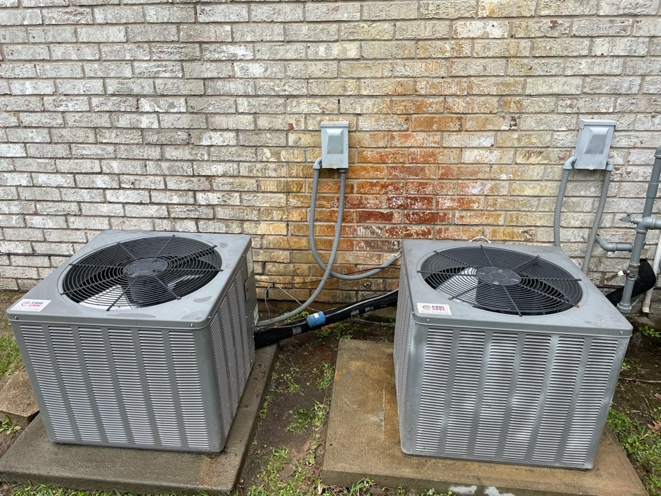Katy, TX - Complete spring preventative maintenance on Ruud system in Katy