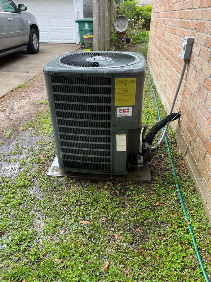 Houston, TX - Completed spring preventative maintenance on Goodman system in Spring Shadow
