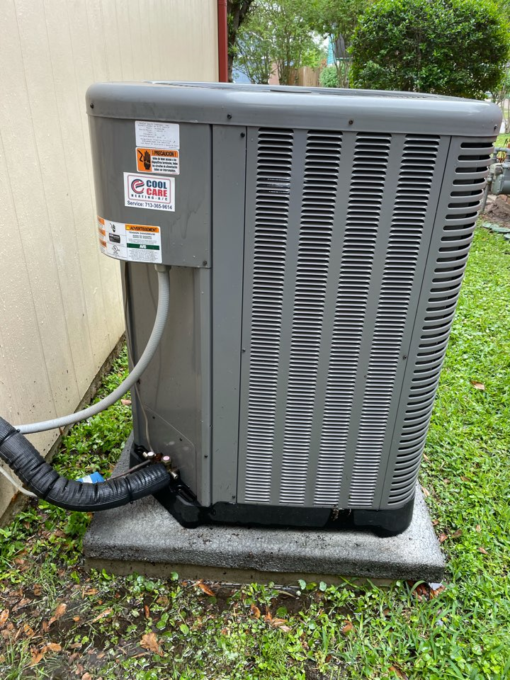 Houston, TX - Completed spring preventative maintenance on Ruud system in Spring Shadows