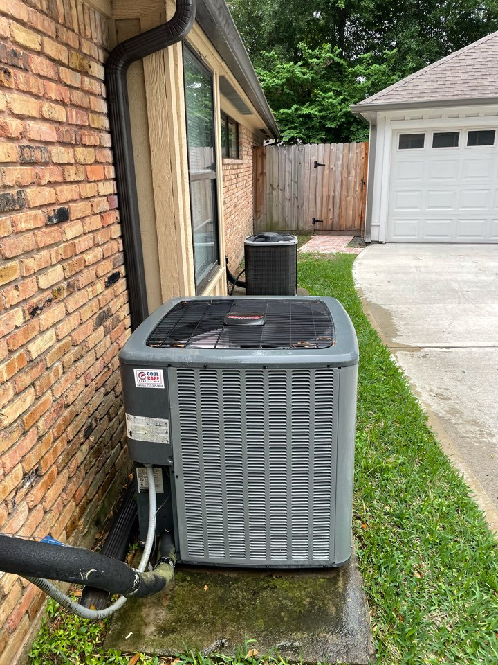 Houston, TX - Completed spring preventative maintenance on Amana system in Spring Branch