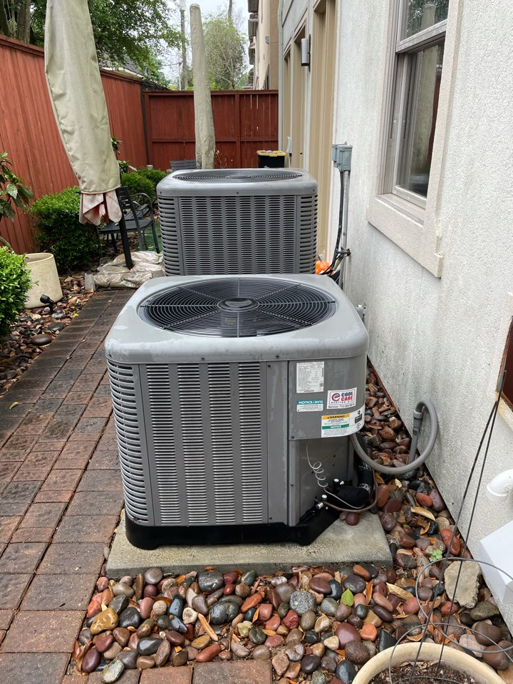 Houston, TX - Completed spring preventative maintenance on Ruud systems in Hilshire Village