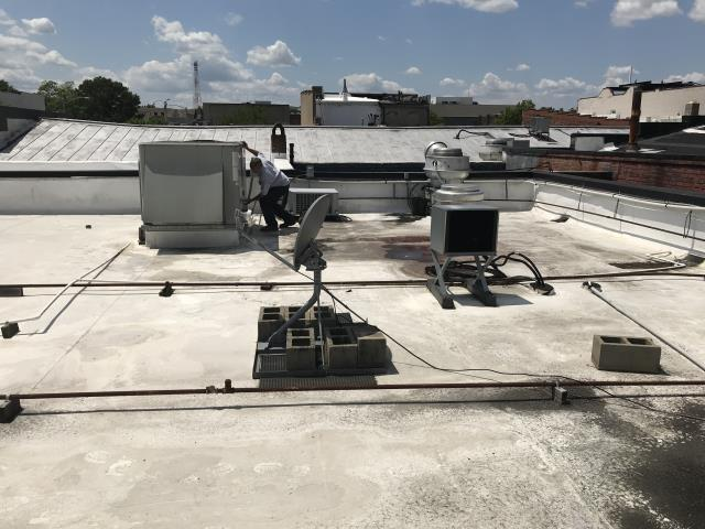 Greenville, NC - Quoting replacement of a roof top package system.