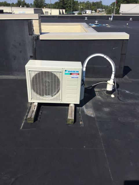 Winterville, NC - Installation of Daikin Mini Split Unit