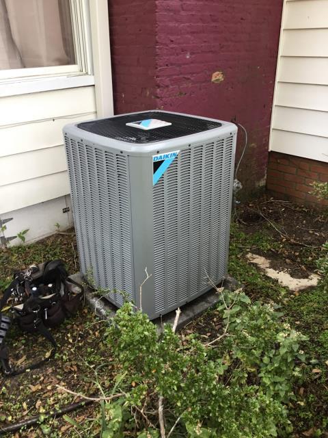 Greenville, NC - Performed winter preventative maintenance on Daikin gas pack unit and Daikin split heat pump unit