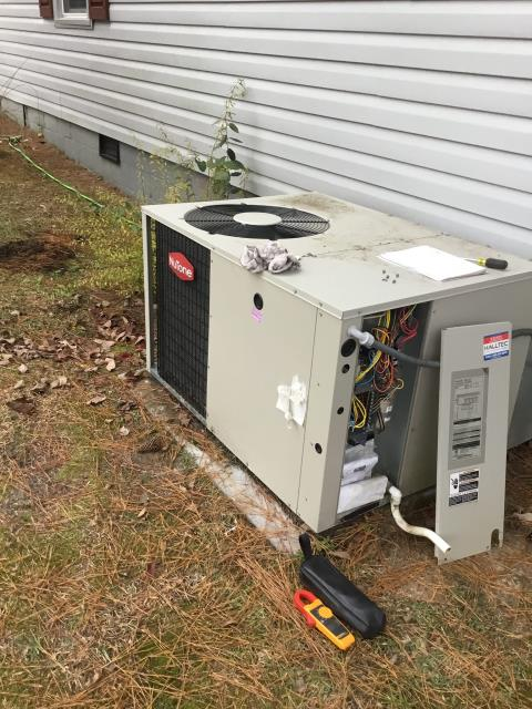 Williamston, NC - Performed preventative maintenance on Nutone package system