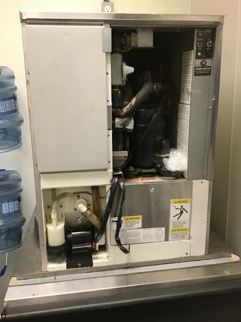 New Bern, NC - Replaced water pump in Hoshizaki ice machine