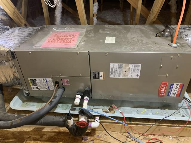 Installed new air handler blower motor.