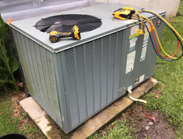 Pink Hill, NC - Preventive Maintenance on a RHEEM package system