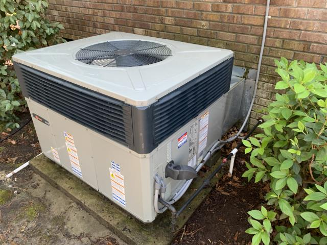 Greenville, NC - Performed Preventive Maintenance on 2 Trane package dual fuel systems.