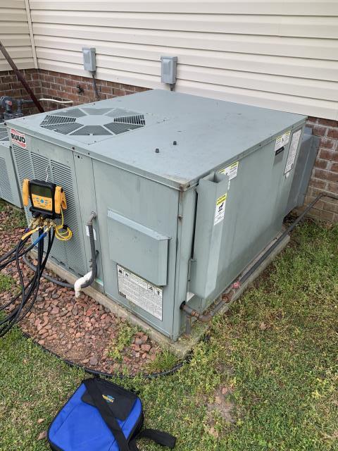 Greenville, NC - Service on a RUUD package unit