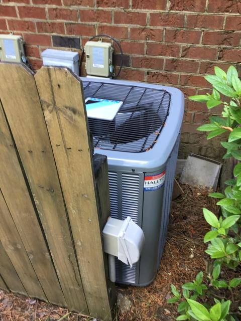 Greenville, NC - Performed preventive maintenance on a Daikin A/C system