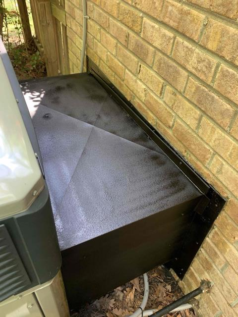 Greenville, NC - Sealed and treated hoods for rust on two systems