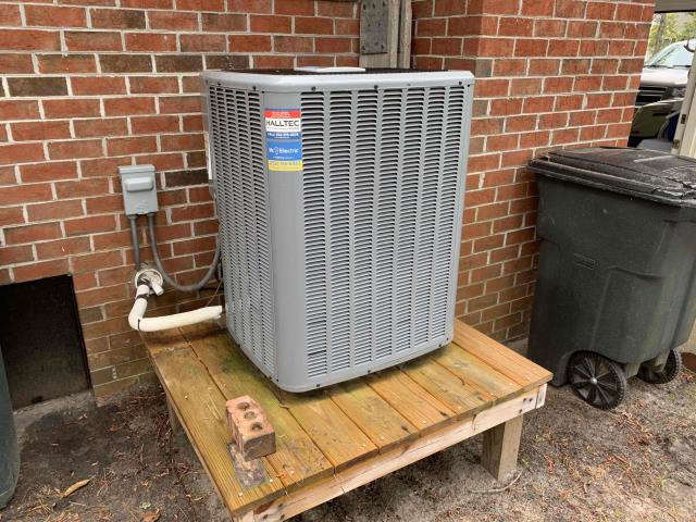 New Bern, NC - Preventive Maintenance done on a Daikin split system heat pump