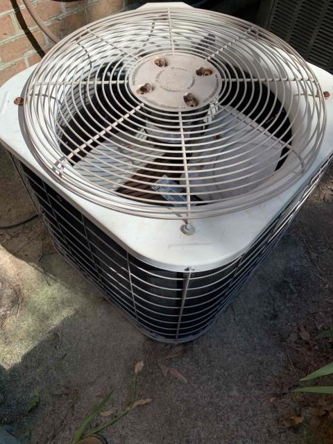 Greenville, NC - Replaced fan motor on a Bryant split system
