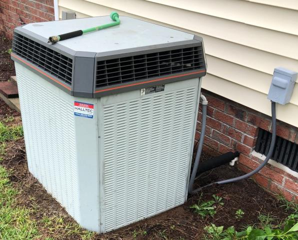 Grifton, NC - Performed a bi-annual preventive maintenance on a Trane split system heat pump